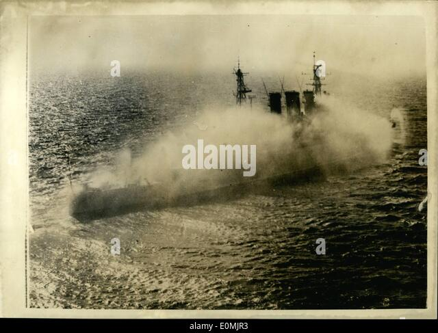 Sep. 09, 1955 - British Official photograph (Admiralty) Issued by central office of information. Crown copyright - Stock-Bilder