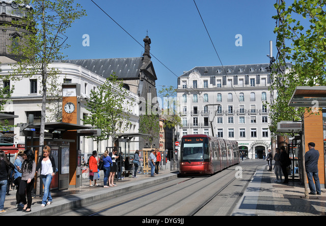 tramway de clermont ferrand stock photos tramway de clermont ferrand stock images alamy. Black Bedroom Furniture Sets. Home Design Ideas