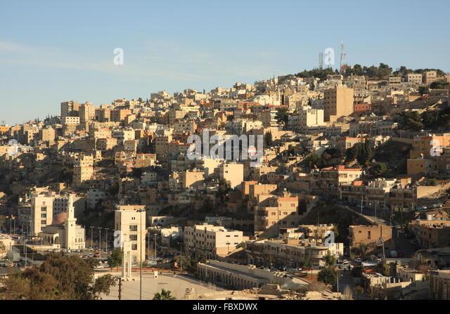Amman Jordan - Stock Image