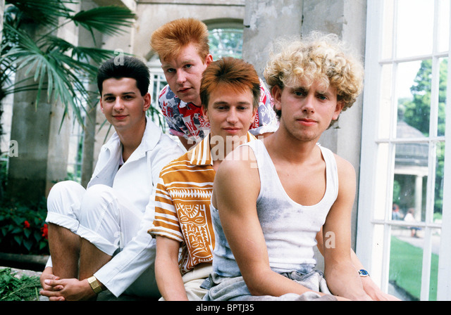 Depeche Mode 1983 Depeche Stock Photos &...
