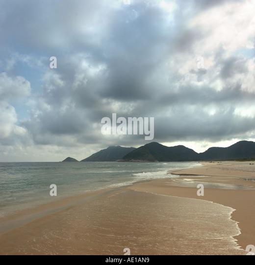 beach Rio de janeiro - Stock Image