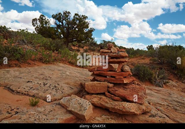 Red Desert - Stock Image