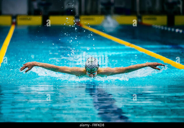 Butterfly swim stock photos butterfly swim stock images for Pool koi goggles