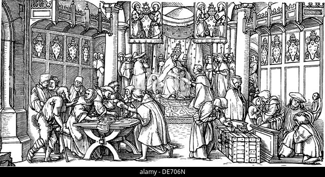 the sale of indulgences and martin The original title demonstrates that the principle issue inspiring luther to commit this bold act of conscience was the marketing and sale of indulgences by the catholic church on indulgences luther saw the abuse of indulgences as the purchase and sale of salvation – something which he condemned.