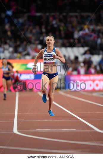World Para Athletics Championships - Georgina Hermitage took gold - Stock Image