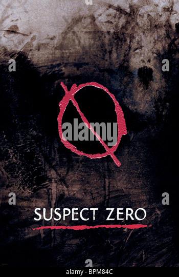 FILM POSTER SUSPECT ZERO (2004) - Stock-Bilder
