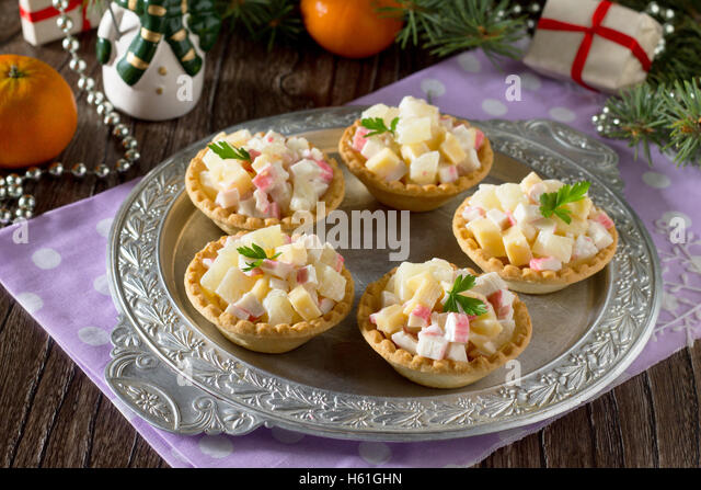 Canapes christmas stock photos canapes christmas stock for Canape spoons australia