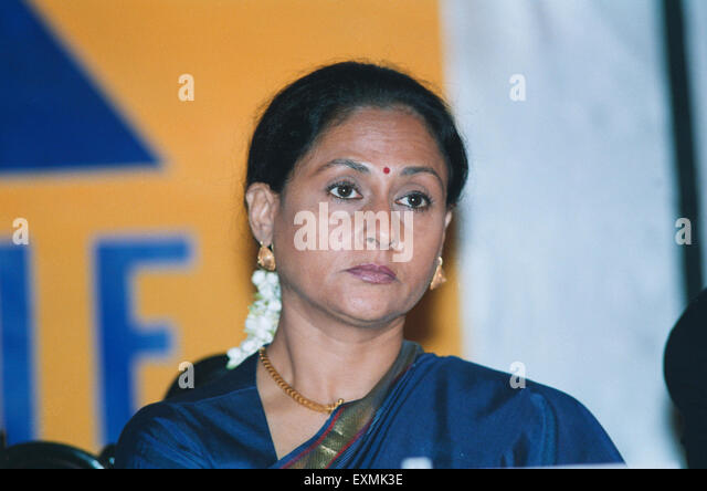 Indian Bollywood film actress Jaya Bachchan - Stock Image
