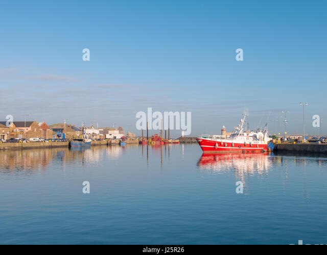 Howth in Ireland - Stock Image