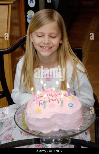 Year Old Birthday Cake Stock Photos & Eight Year Old Birthday Cake ...