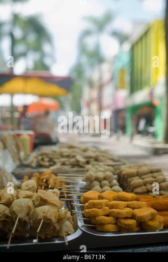 Kuala lumpur chinatown - Stock Image