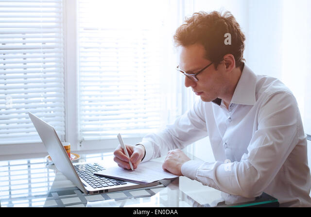 office work - Stock Image