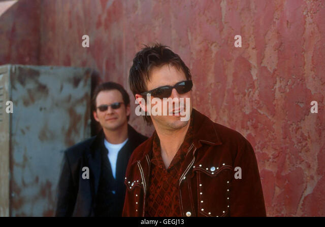 Christian Slater, David Arquette *** Local Caption *** 2001, 3000 Miles To Graceland, 3000 Miles To Graceland - Stock Image