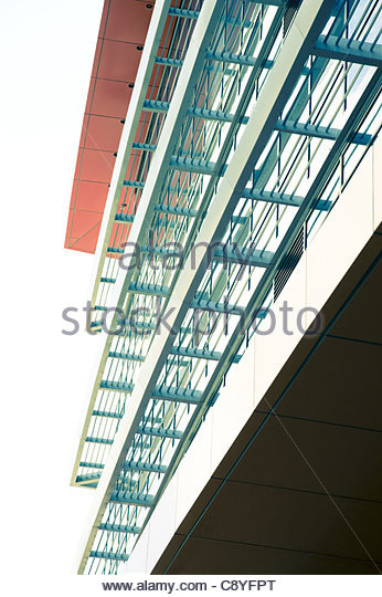 architectural details corporate building - Stock-Bilder