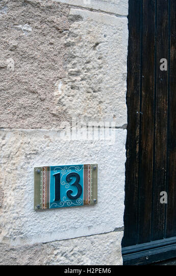 Unlucky number stock photos unlucky number stock images alamy Unlucky house