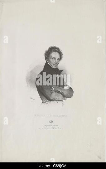 Raimund, Ferdinand - Stock Image