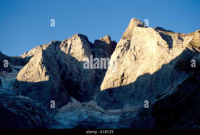 The North face of Vignemale, Pyrenees, France - Stock Image