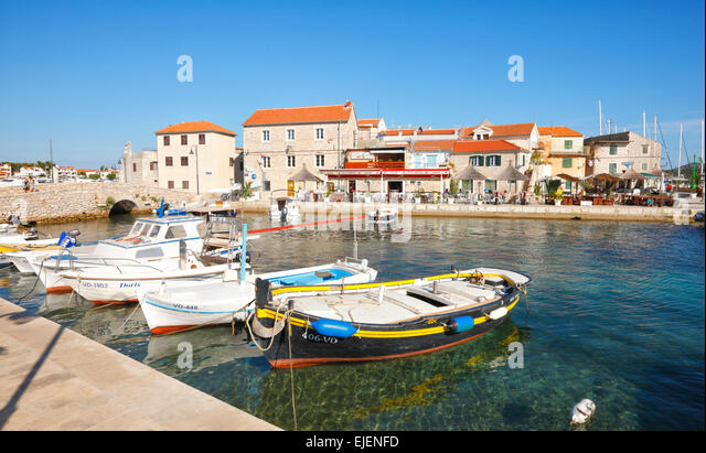 Tribunj old town, near Vodice - Croatia - Stock-Bilder