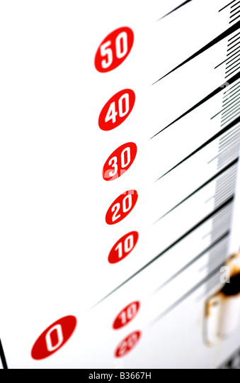 thermometer - Stock Image