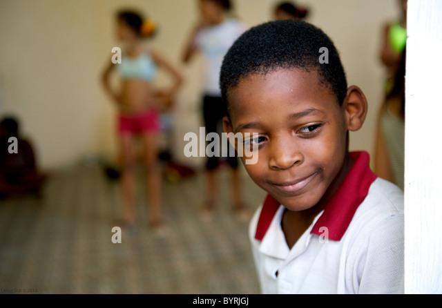 Street photography Cuba. - Stock Image