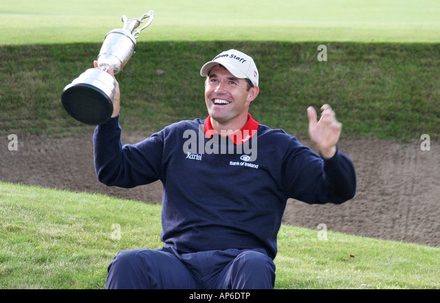 british open golf championship winner stock photos