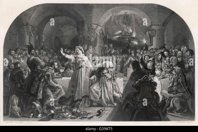 how does shakespeare show conflict in macbeth act 1 scene 7 A summary of act 1, scenes 5–7 in william shakespeare's macbeth  she  resolves to convince her husband to do whatever is required to seize the crown   whenever macbeth shows signs of faltering, lady macbeth implies that he is  less.
