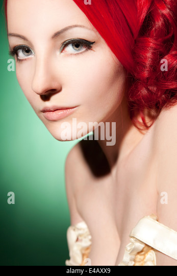 Beautiful, elegant woman - Stock Image