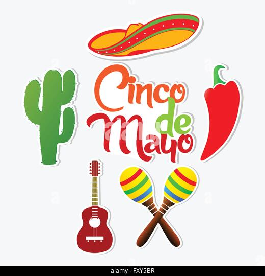 Mexican Hat And Maracas Stock Photos & Mexican Hat And ...