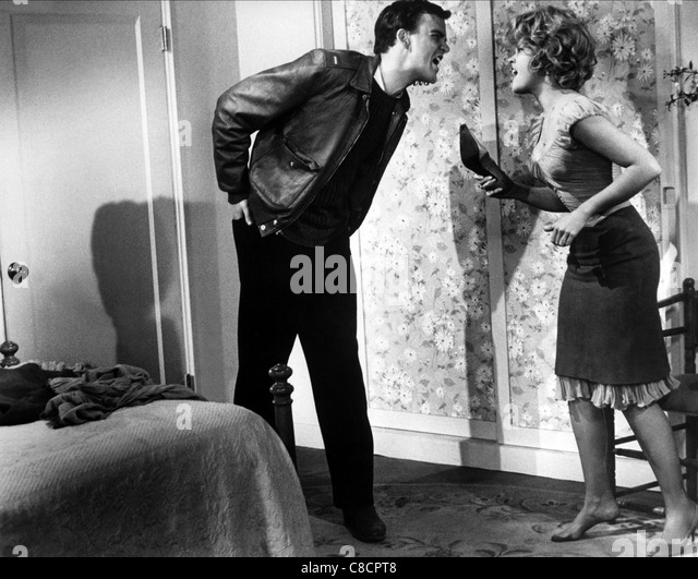 JIM HUTTON & JANE FONDA PERIOD OF ADJUSTMENT (1962) - Stock Image