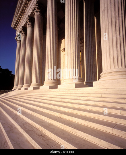 United States Supreme Court Washington, D.C. - Stock Image