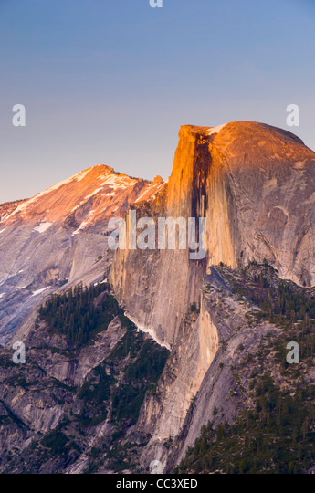 USA, California, Yosemite National Park, Half Dome from Glacier Point - Stock-Bilder
