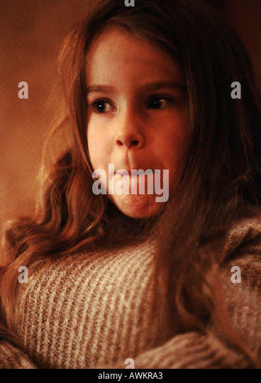 Girl, portrait - Stock Image