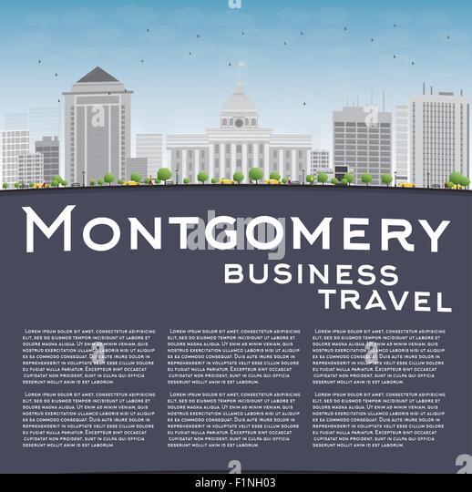 Montgomery Alabama Skyline Stock Photos Amp Montgomery