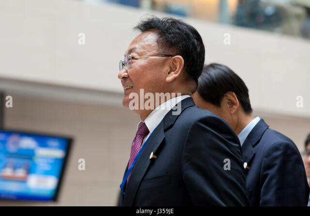 Yoo Il-ho, South Korean Finance Minister - Stock Image