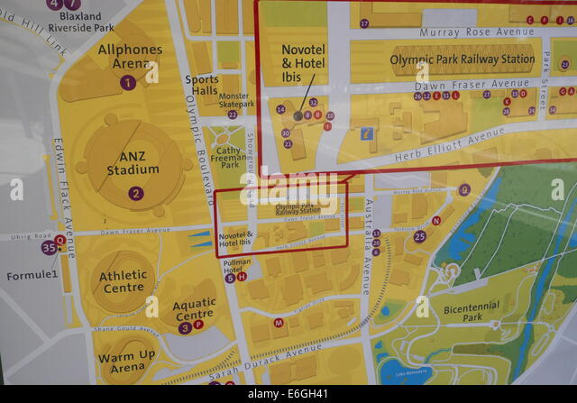 how to get to sydney olympic park by ferry