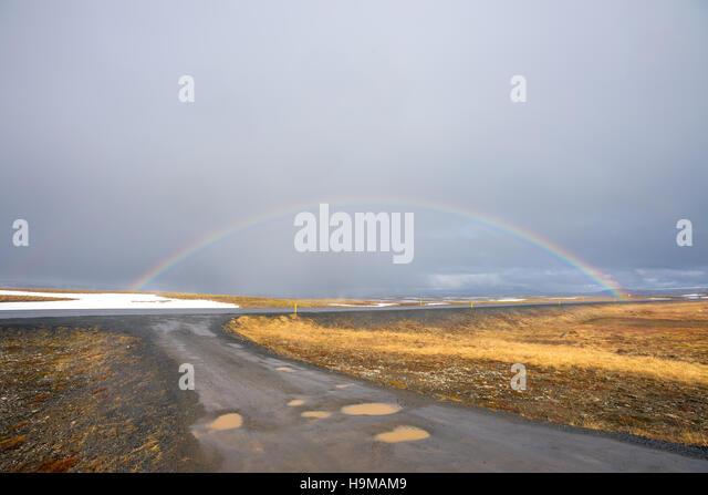 Iceland landscape - Stock Image