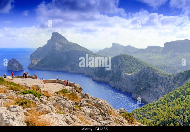 Mallorca landscape - Stock Image
