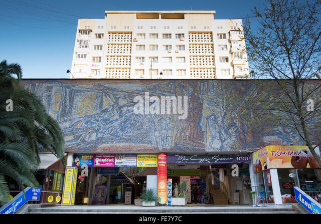 City of Sochi, Russia - Stock Image
