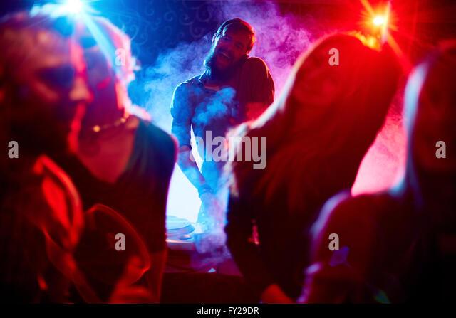 Cool disco - Stock Image