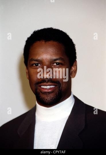 Washington, Denzel, * 28.12.1954, US actor, portrait, 1998, beard, - Stock-Bilder