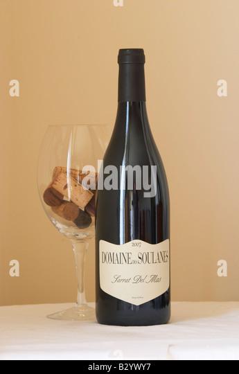 domaine des soulanes, sarrat del mas. Roussillon, France - Stock Image