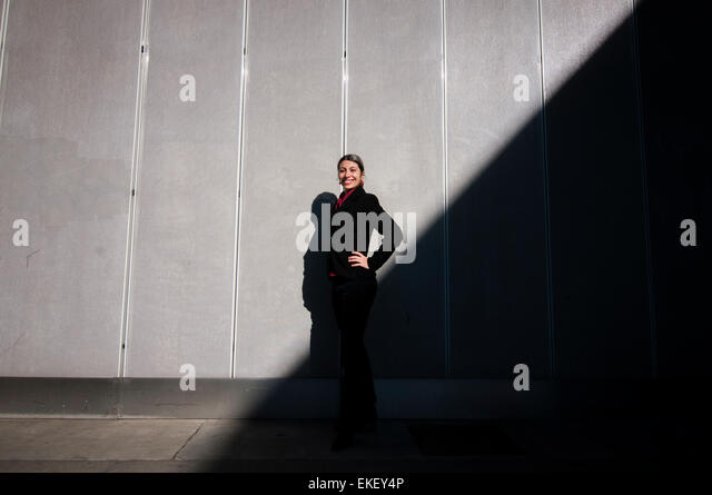 success business girl - Stock Image