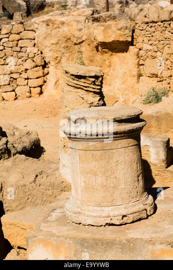 Tombs of the Kings, Paphos, Cyprus. - Stock Image