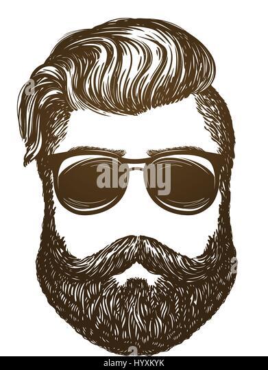 Beard Illustration Stock Photos & Beard Illustration Stock ...