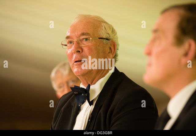 Legendary Wales international rugby player JOHN DAWES - Stock Image