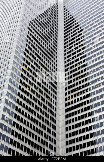 Montreal office towers - Stock Image