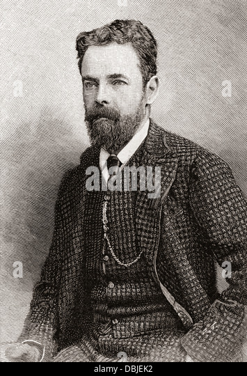 Robert Collier, 2nd Baron Monkswell, 1845 -1909. British Liberal politician. - Stock Image