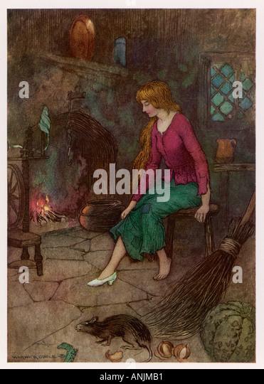 Cinderella Warwick Goble - Stock Image