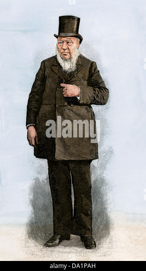 Paul Kruger, President of the South African Republic, 1890s. - Stock Image