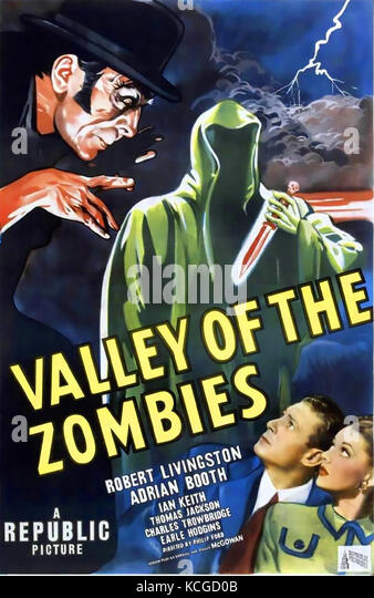 VALLEY OF THE ZOMBIES 1946 Republic Pictures film - Stock Image